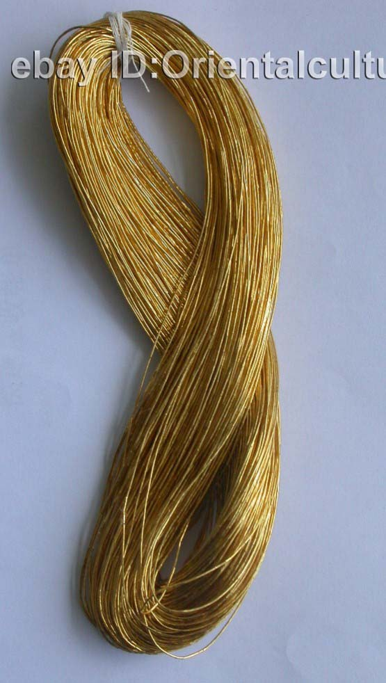 Up color m chinese hand embroidery gold thread ebay